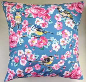 "Cushion Cover in Cath Kidston Meadowfield Birds and Spot 14"" 16"" 18"" 20"""